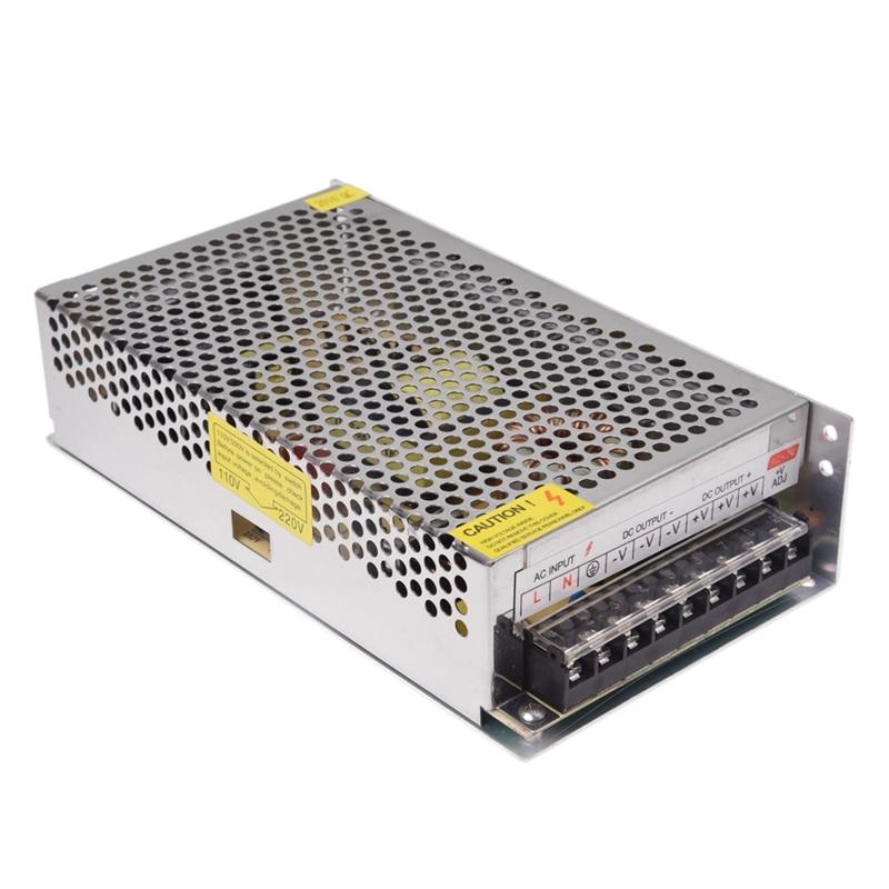 Işıklar ve Aydınlatma'ten Aydınlatma Çeviriciler'de Elektronik transformatör LED trafo 300W 25A 220V AC için 12V DC title=