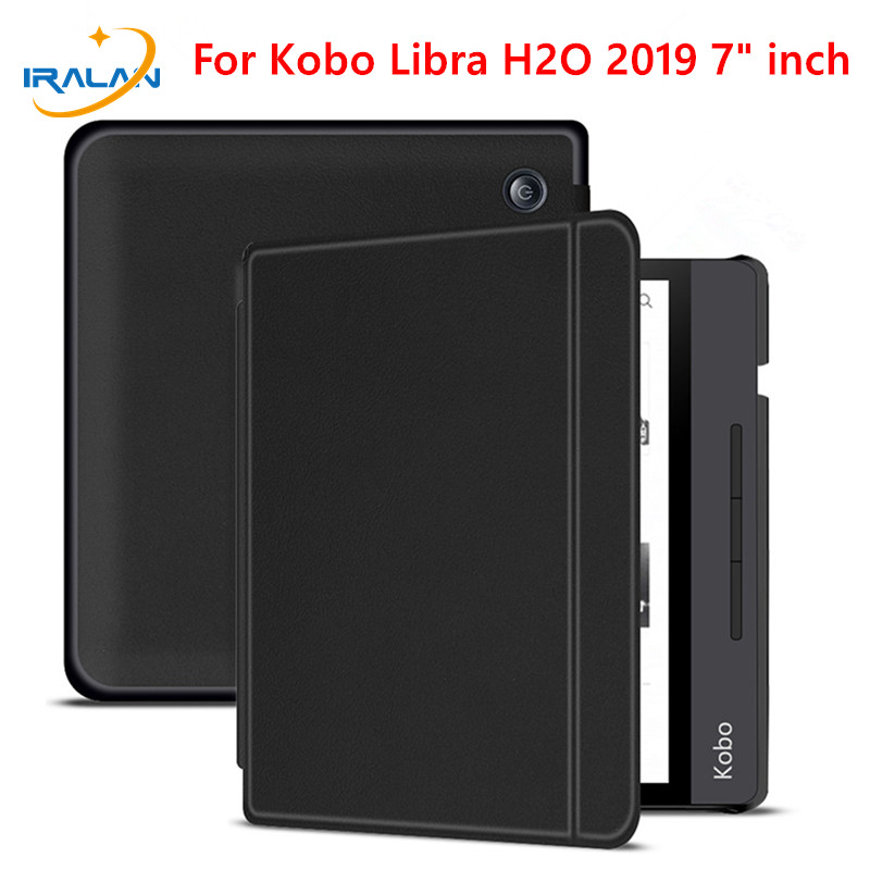 Case for All new Kobo Libra H2O 7 inch 2019 e Books PU Leather Cover for kobo 7