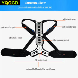 Image 5 - 1Pcs Posture Corrector Back Braces Shoulder Waist Lumbar Support Belt Humpback Prevent Body Straighten Slouch Compression Pain R