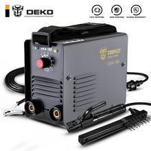 DEKO DKA-180Y 180A 6.8KVA IP21S инвертор дуговой Электрический сварочный аппарат MMA сварочный аппарат для сварочных работ и электрических работ