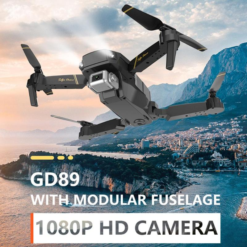 GD89 Drone mondial EXA 1080P caméra HD WIFI FPV Drone 4CH 6 axes hélicoptère quadrirotor double caméra contrôle de vitesse pliant Dron