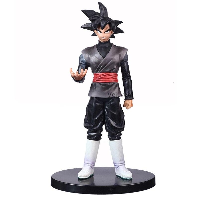 Dragon Ball Z Black Goku Black Hair Ver. Action Figure DBZ Black Chocolate Son Goku PVC Collection Model Toys 20CM