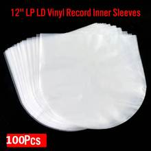 OPP Clear-Cover Record-Sleeves Outer-Inner Anti-Static Plastic Bags LP 100pcs/50 PE 12-