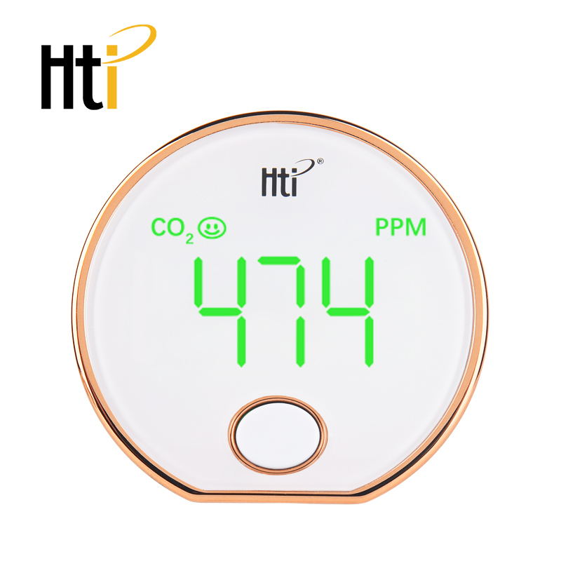 Carbon Dioxide Co2 Indoor Air Quality Co2 Meter Temperature And Relative Humidity White Ht-401 Rich In Poetic And Pictorial Splendor