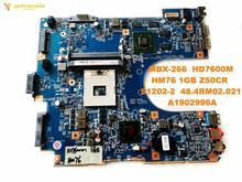 Оригинальный беспроводной контроллер для SONY MBX-266 Материнская плата ноутбука MBX-266 HD7600M HM76 1 ГБ Z50CR S1202-2 48.4RM02.021 A1902996A испытанное хорошее Бесплат...