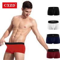 CXZD Cotton Breathable Mens Underwear Boxers Men Homme Calzoncillos Underpants Ropa Interior Hombre sexy Boxer shorts