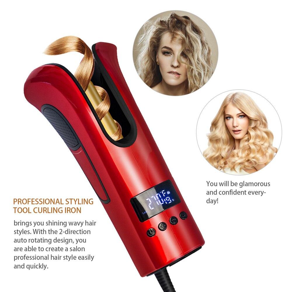 Modelador de cabelo automático ondulação do cabelo
