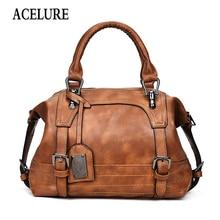 ACELURE Shoulder Bag In Womens Tote Brand Crossbody Bags for Women Messenger Bags Vintage Leather Bags Handbags Women Famous