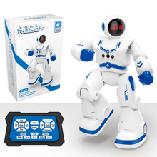 Early childhood education space robot intelligent remote control programming gesture touch induction dancing toy robot