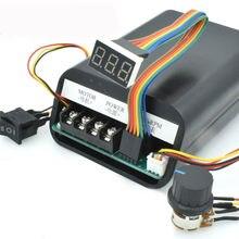 Moteur à courant continu PWM contrôleur de vitesse d'affichage numérique Max 60A CW CCW 0 ~ 100% Module d'entraînement réglable