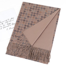 2020 Fashion Cashmere Scarf For Women Tassel Shawl Double Faced Soft Pashmina Hijab Winter Warm Scarf Blanket Red Camel Gray