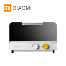 2020 XIAOMI MIJIA Solista Electric Ovens pizza oven bake microwave for kitchen appliances stove mini Electric furnace Air Grill 38l oven mini high quality electric oven for pizza smokehouse convection 1600w dkx a38a1 household appliances stainless steel