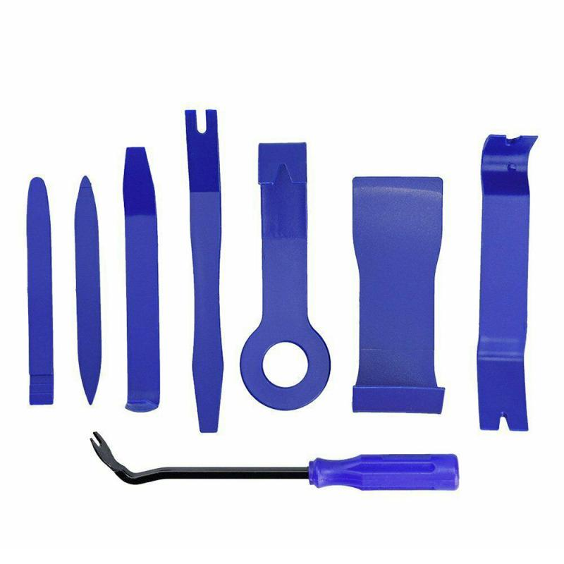 8Pcs Car Trim Removal Tool Door Plastic Panel Molding Kit Set Pliers Tools Pry Car Disassembly Tool Special Disassembly Tool