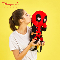 Original Disney Fashion Marvel Cute Deadpool Plush Doll Backpack 2020 Summer New Women Women Backpack Bagpack