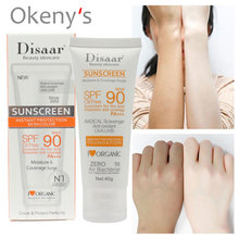 Disaar Sunscreen Cream Spf 90 ++ Moisturizing Skin Protect S