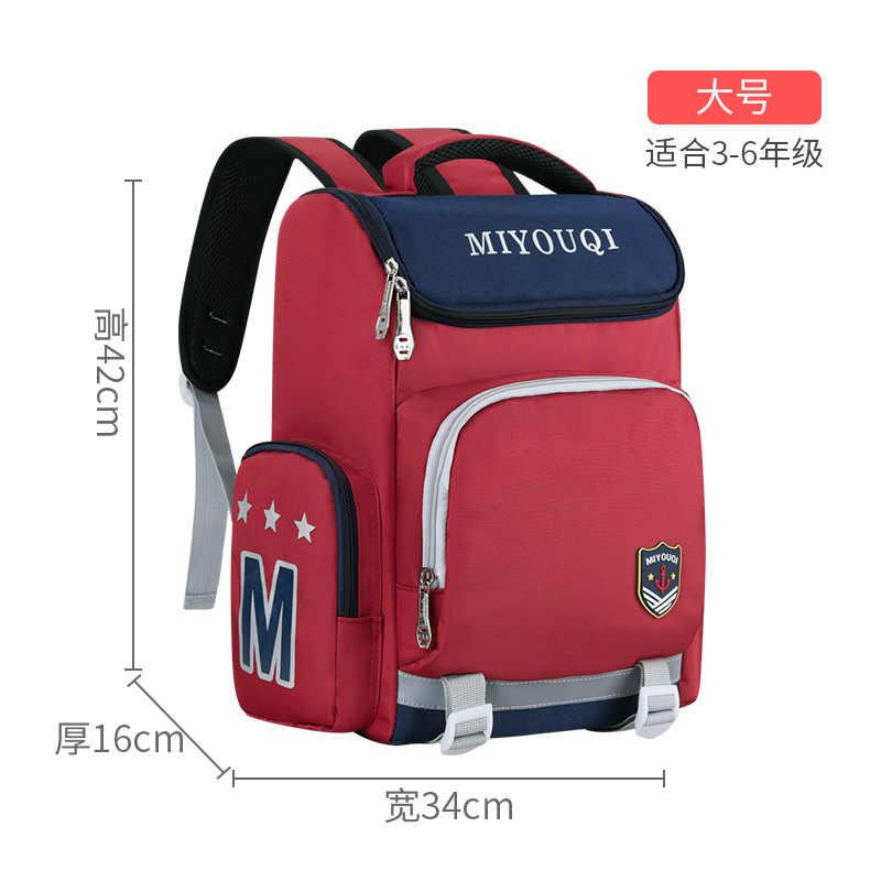 Dzieci szkolne torby chłopcy dziewczęta dzieci ortopedyczne powrót do szkoły paczki dziecięce tornistry wodoodporne plecaki podstawowy plecak szkolny