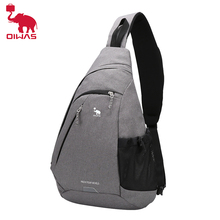 OIWAS Large Capacity Male Chest Bag High Quality Nylon Men School Bags Modern Shoulder Bag Unisex Crossbody Bags Messenger Pack new high quality canvas bag male solid cover zipper casual shoulder school bags men crossbody bag men s messenger bags hqb2014