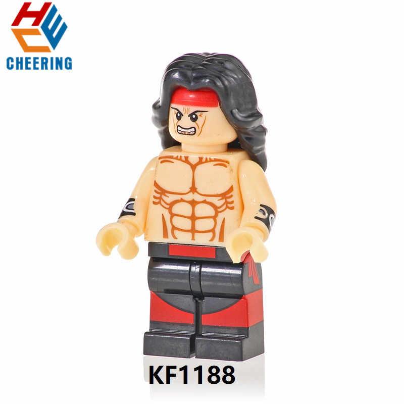 Baraka 20Pcs Atacado Blocos de Construção de Mortal Kombat Kitana Jax Escorpião KF1189 Raiden Modelo Dolls Figuras Bricks Brinquedos para Crianças