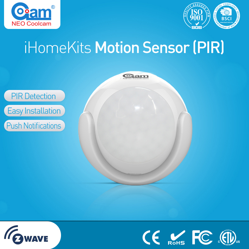 NEO COOLCAM Zwave Plus Motion Sensor+Temperature+Lux Smart Sensor RU 869MHZ