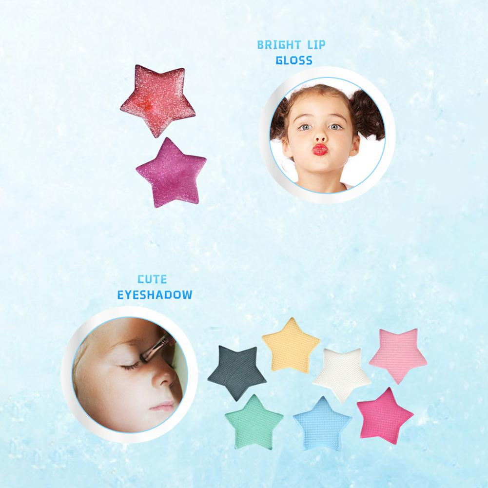 Disney Frozen Princess Makeup Set Girls Toys Cosmetic Pretend Play Lip Gloss Blush Eyeshadow Disney Makeup Toys For Girls in Beauty Fashion Toys from Toys Hobbies