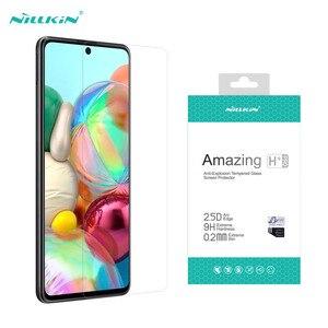 Image 1 - Samsung Galaxy A51 A71 5G A31 A41 A21S M31S M51 Note 10 Lite temperli cam Nillkin H + PRO anti patlama 9H ekran koruyucu