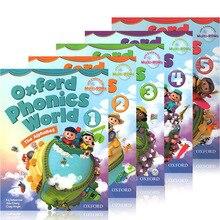 5 Books Oxford Phonics World Original English Reading  Children's Books