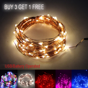 LED String Light Holiday Coppe