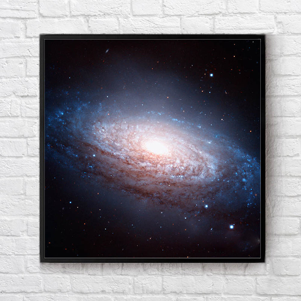 1 Pcs 40x40cm Leo Triplet Nebula Map Decorative Paintings Chart Poster For Home Decoration