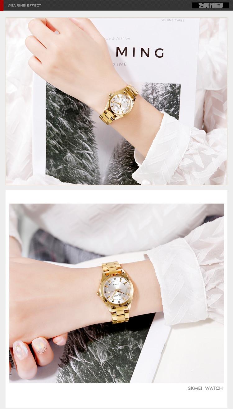 H1969394ed13c4884832edde0b6ad1283N 2020 SKMEI Casual Women Romantic Quartz Watches Luxury Female Girl Clock Waterproof Ladies Wristwatches Relogio Feminino 1620