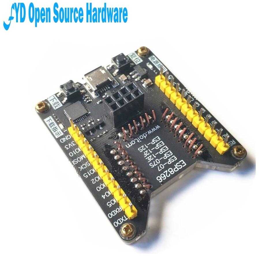 Где купить 1 шт. ESP8266 тестовая подставка горелка один клик поддержка загрузки ESP-01S ESP-12F 12E 12S 07S