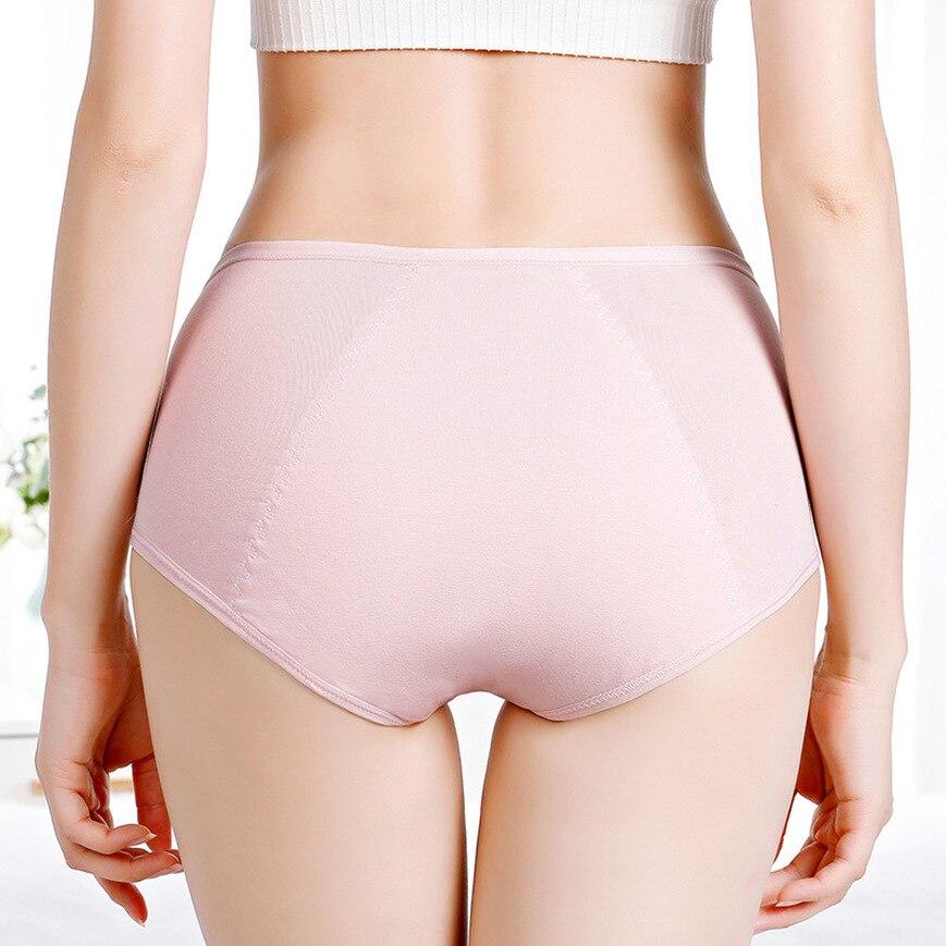 Women's Menstrual Period Pants Modal Cotton Panties Women's Seamless Lengthen Panties Physiological Leakproof Women's Panties