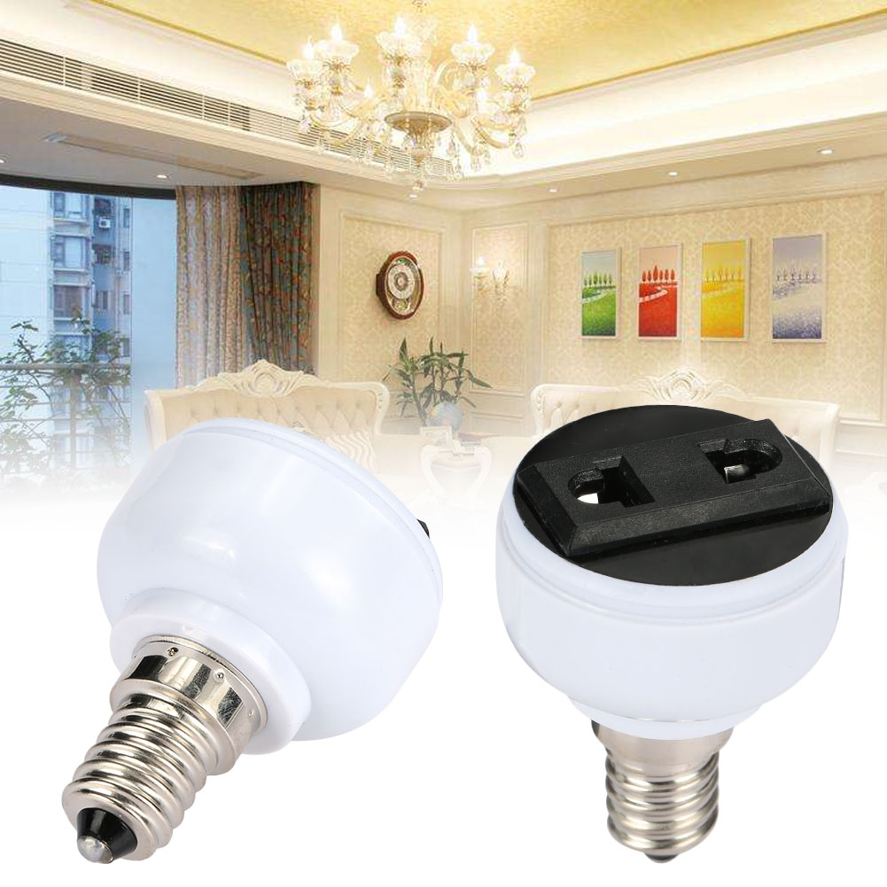 Lamp Base For EU/ US Plug Power Socket Household Supply Home Bulb Holder Convenient E14 Light Fixture Lighting Parts