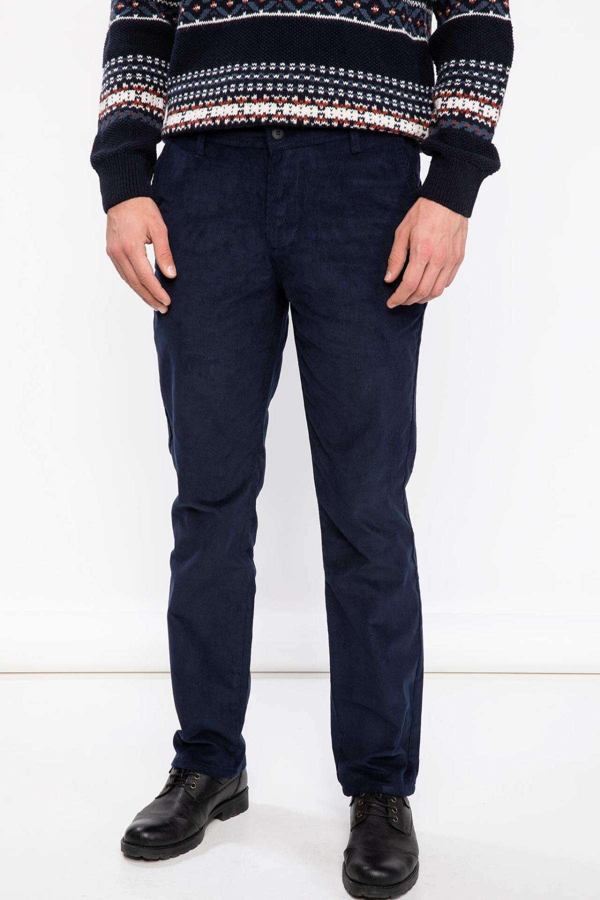 DeFacto Fashion Men's Suit Trousers Leisure Classic Business Long Pants Male Casual Solid Casual Stright Pants - J1052AZ18CW