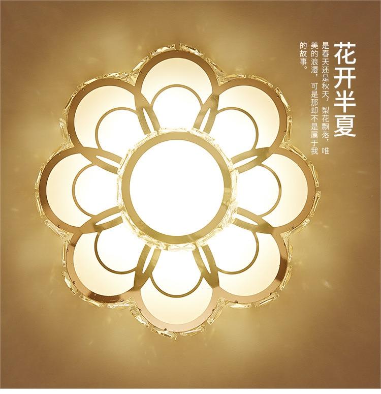redonda para o quarto lâmpada sala estar