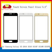 10Pcs/lot Touch Screen For Samsung Galaxy A5 2016 A510 A510F A510M Touch Panel Front Outer Glass Lens A510 Touchscreen LCD Glass scn a5 flt15 0 z02 0h1 r 15 inch touch glass panel new