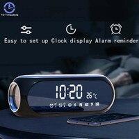 Wireless Bluetooth Speaker Alarm Clock Radio Receiver Portable Mini Mobile Computer Cannon Household Outdoor Desktop Despertador