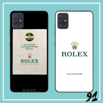 FHNBLJ rolex papel de cubierta de la caja del teléfono para Samsung S10 E S10 más S20 S20 plus nota Nota 10 plus A50 20 40 70 71