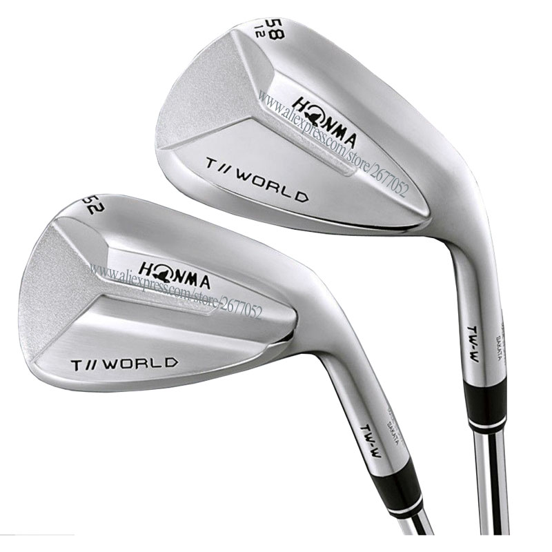 New Golf Wedges HONMA T//WORLD TW-W Golf Clubs 48 Or 50 52 56 58 60 Degree Right Handed Clubs Steel Golf Shaft Free Shipping