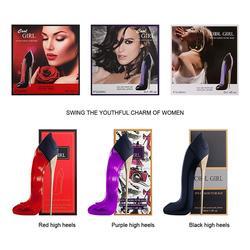 Яркие Гламурные туфли на высоком каблуке в форме 40 мл; парфюмированные женские ароматизаторы; Модные женские фруктовые ароматы с цветами