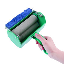 Handheld Single/Double Color DIY Texture Roller Painting Machine DIY Wall Decoration for Draw Beautiful Pattern On The Wall(China)