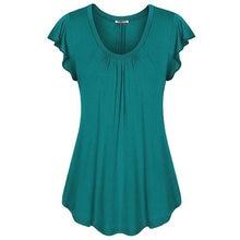 Женские модные повседневные блузки летние свободные однотонные