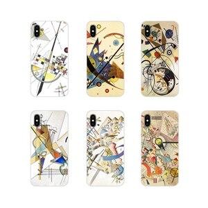 Аксессуары для телефона Wassily Kandinsky, чехлы для Apple iPhone X, XR, XS, 11Pro, MAX, 4S, 5C, SE, 6S, 7, 8 Plus, ipod touch 5, 6