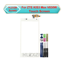 Для ZTE KIS3 Max V830W сенсорный экран без ЖК-дисплея дигитайзер сенсор Замена с инструментами