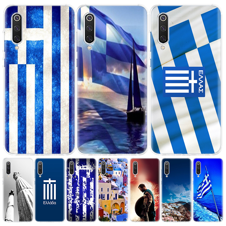 Greece Greek National Flags Phone Case For Xiaomi Redmi Note 9 8 7 8A 7 7A 6A S2 K20 K30 8T 9S MI 9 8 CC9 F1 Pro Fashion Cover C