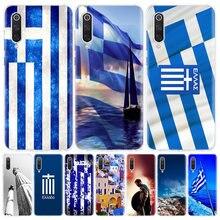Coque de téléphone à drapeaux nationaux grec pour Xiaomi, étui pour Redmi Note 9 8 7 8A 7 7A 6A S2 K20 K30 8T 9S MI 9 8 CC9 F1 Pro C