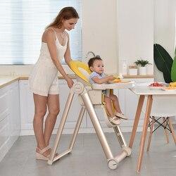 Silla de alimentación de bebé Silla de niños Silla de alimentación silla alta