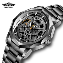 Top Brand Men WINNER Watch Skeleton Automatic Mechanical