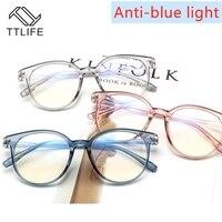 TTLIFE Blau Licht Blockieren Brille Anti Augen Dekorative Gläser Licht Computer Strahlung Schutz Brillen YJHH0306 Blau Licht Blockieren Gläser    -