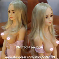 KNETSCH 125cm Real Silicone Sex Dolls Japanese Adult Robot Anime Love Doll Realistic Vagina Breast Oral Anus Sex Toys For Men