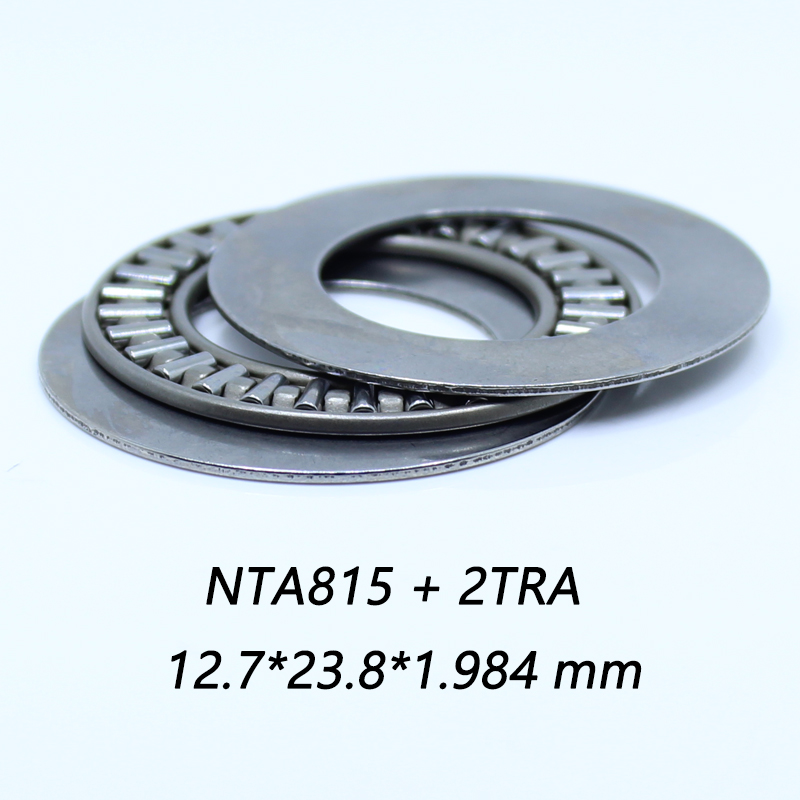 NTA815 + 2TRA Thrust Needle Roller Bearing With Two TRA815 Washers 12.7*23.8*1.984 Mm ( 5 Pc) TC815 NTA815 Bearings